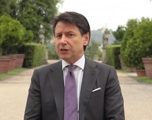 Giuseppe Conte, Italian President of the Council of Ministers